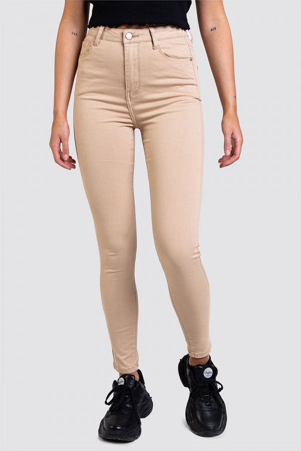 Skinny Jeans - Perfect Fit Beige