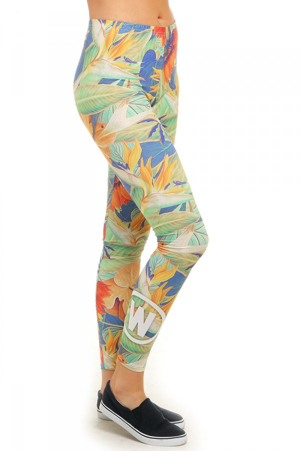 Leggings Med Mönster - Lavish Jungle
