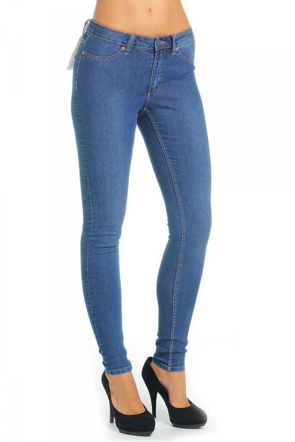 Jeans - Mid Spray Blue