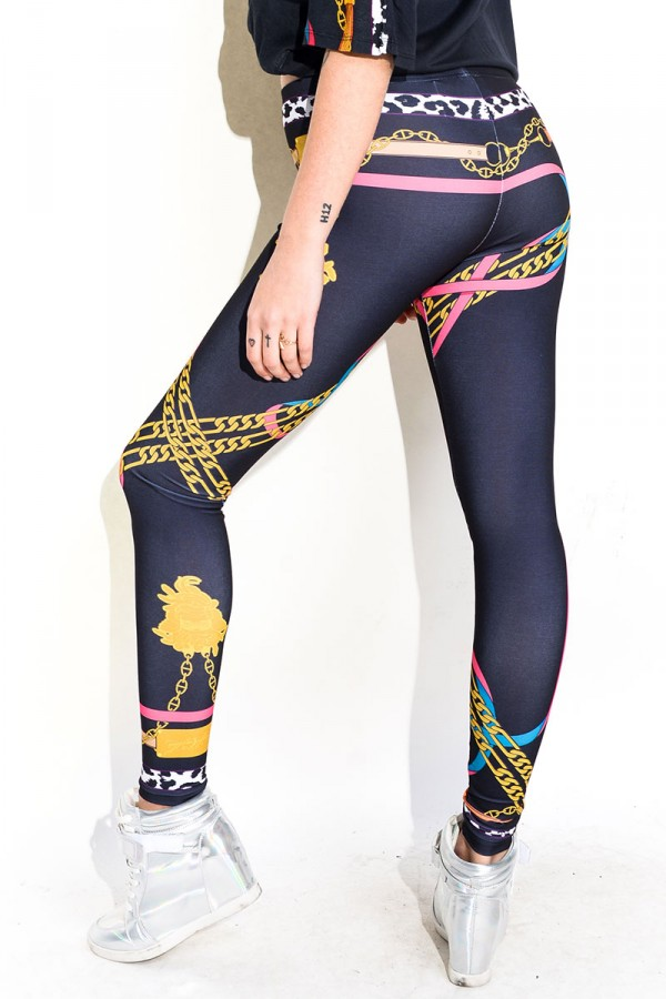 Leggings - Regalia Medusa