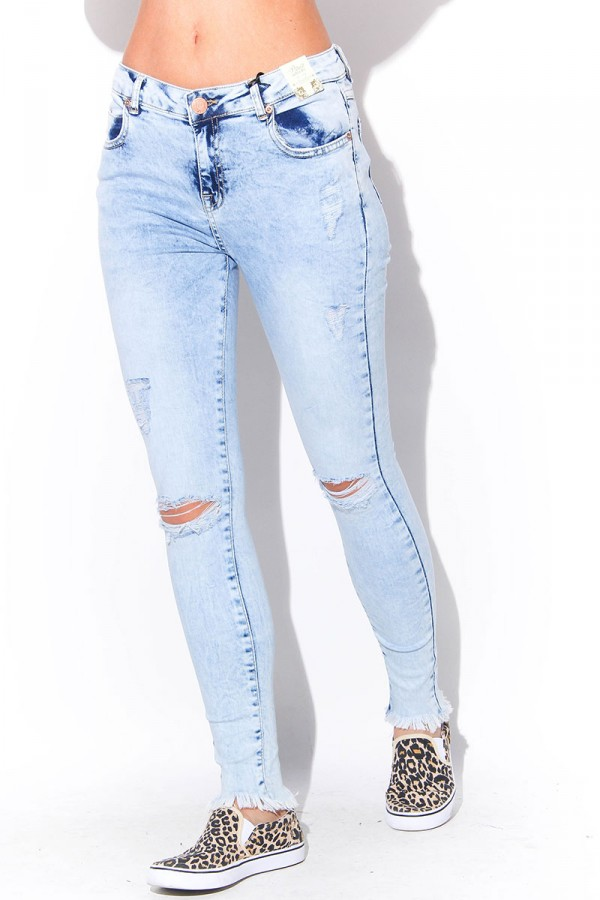 Slitna Jeans - Ragged