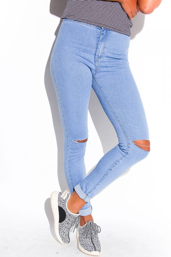 Ljusa Jeans - Lilly