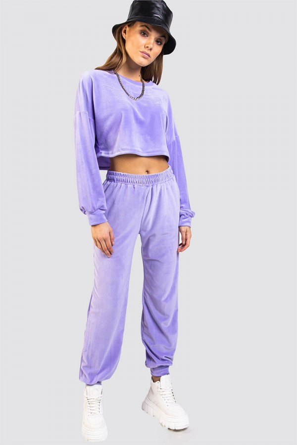 Croppat Set - Ultra Soft Purple