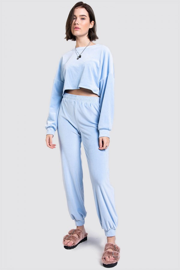 Croppat Set - Ultra Soft Light Blue