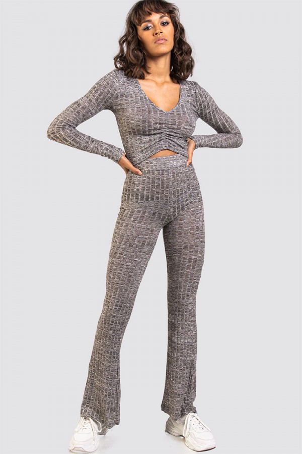Mysigt Set - Ribbed Grey
