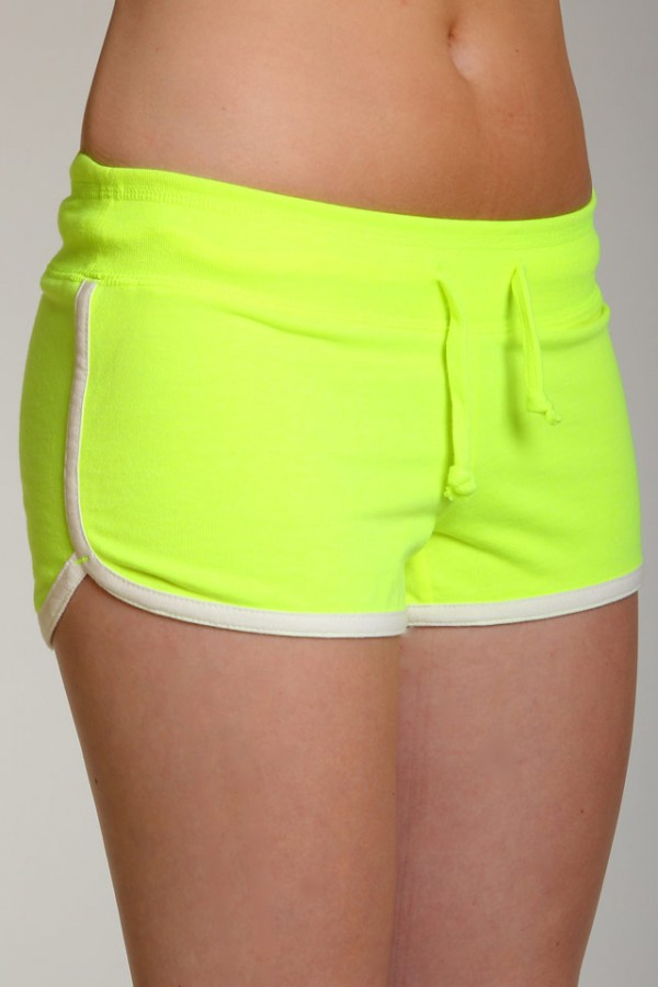 Neon Shorts - Lemon Zest