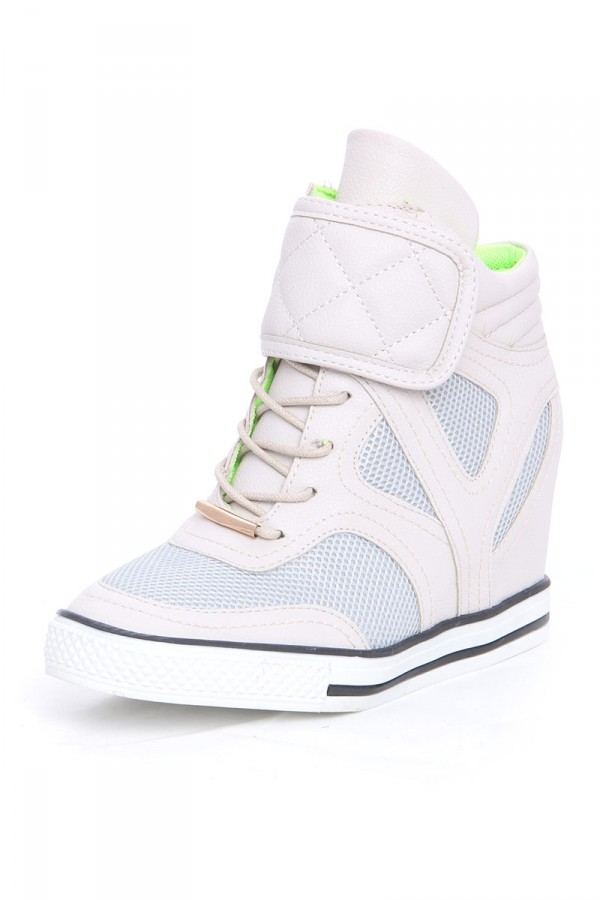 Beiga Wedge Sneakers - Astral