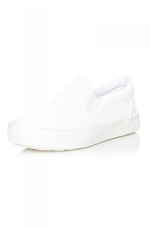 Vita Slip-On Skor - White Snake