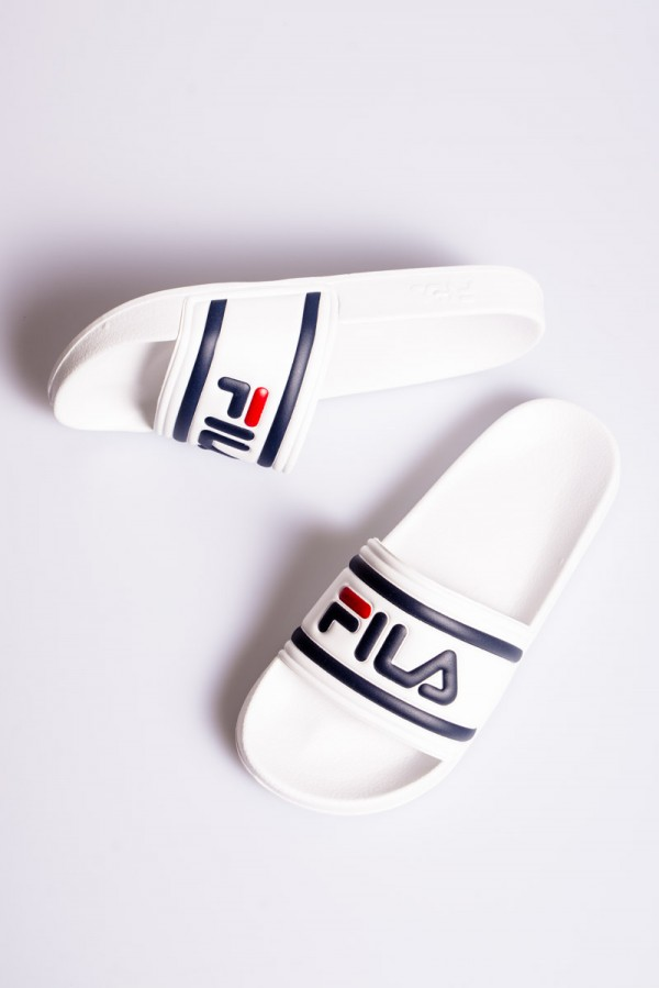 Morro Bay Slipper - White