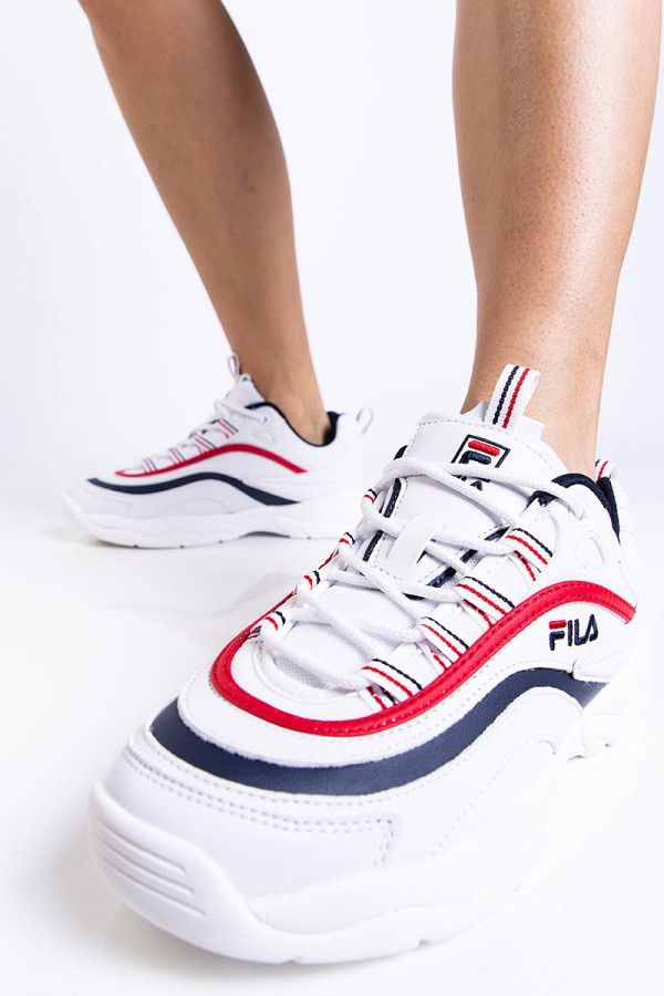 Sneakers - Ray Low Red n Navy