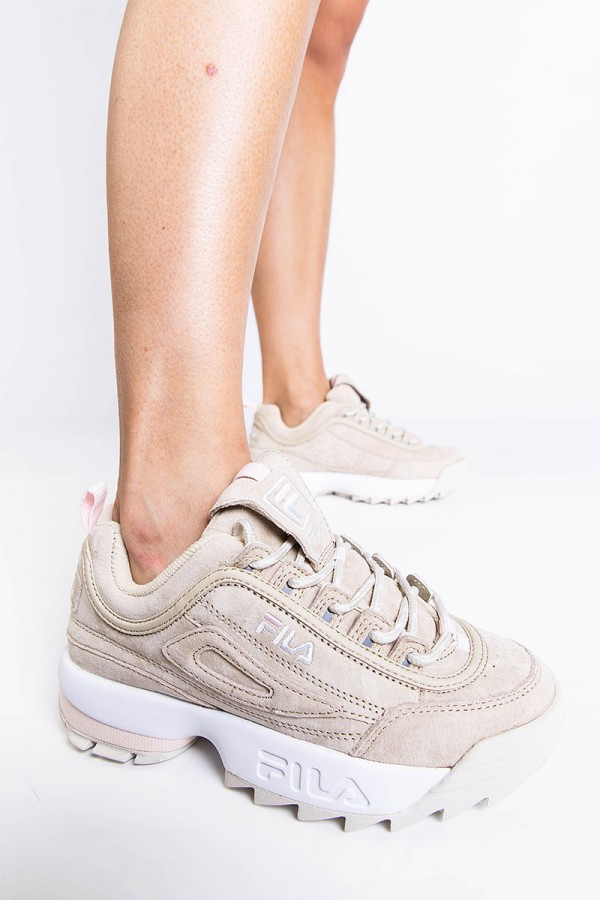 Sneakers - Disruptor S Low Wmn Feather Gray