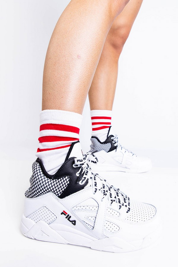 Sneakers - Cage CB Mid Wmn White Black