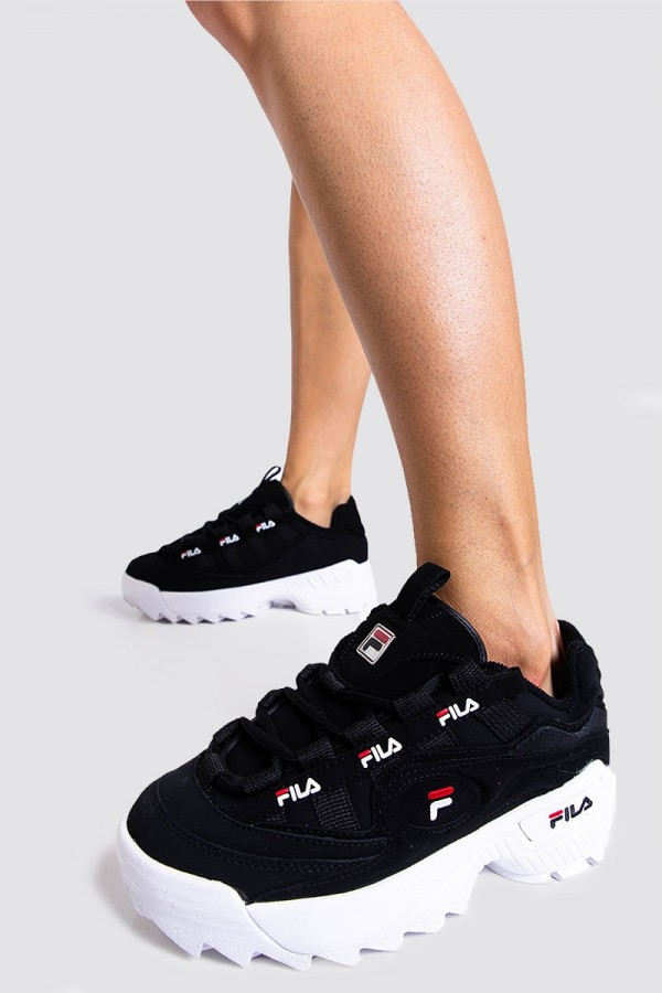 Sneakers - D-Formation Wmn Black