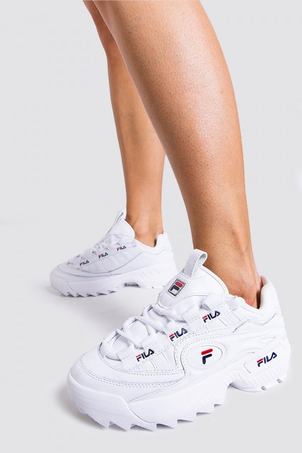 Sneakers - D-Formation Wmn White