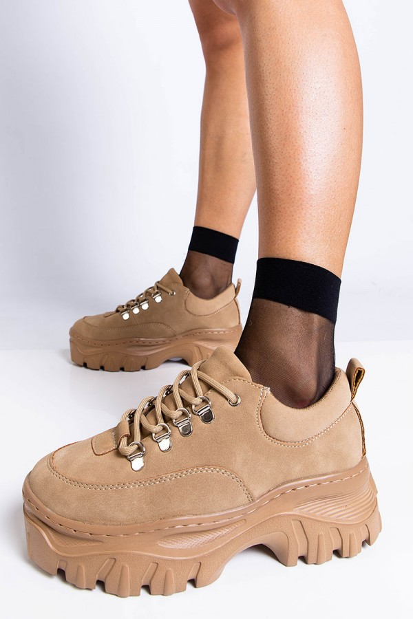 Chunky Sneakers - Tanned Mocha