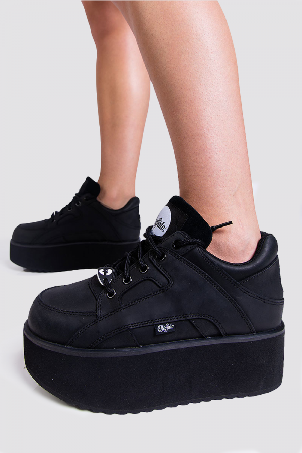 Sneakers - Leather Black