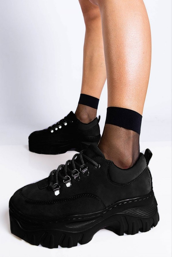 Chunky Sneakers - Raven