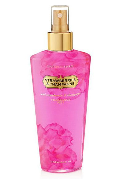 Victoria's Secret Body Mist - Strawberries & Champagne