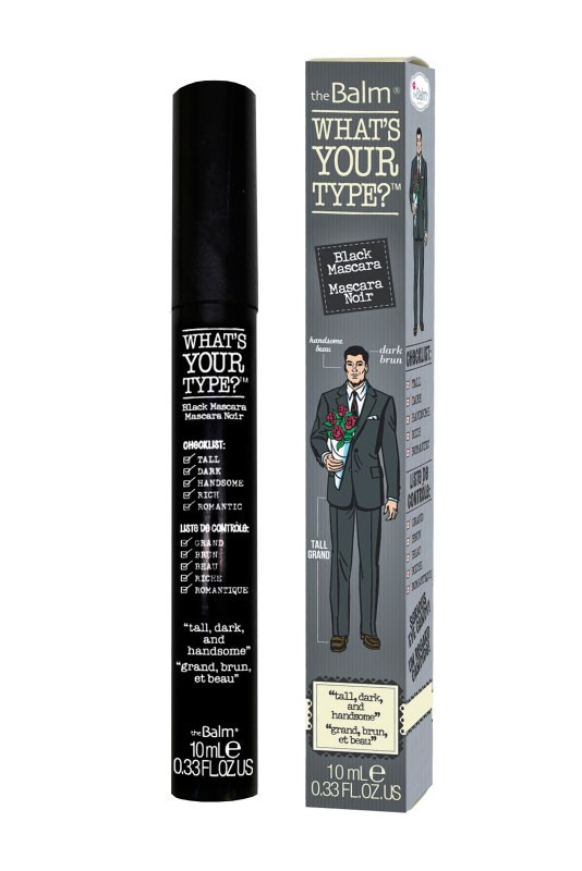 What's Your Type Black Mascara - Tall Dark & Handsome