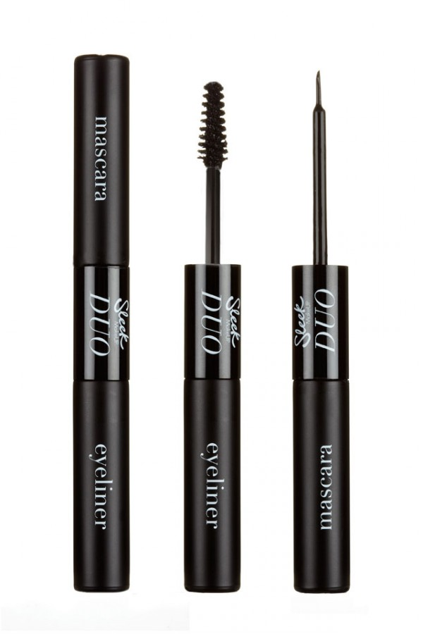 Eyeliner/Mascara Duo Black