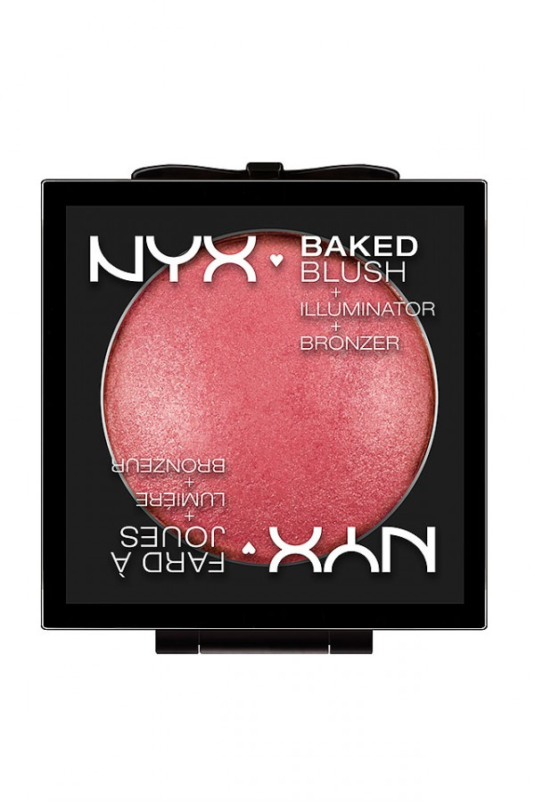 Baked Blush - Rouge Från NYX - Statement Red