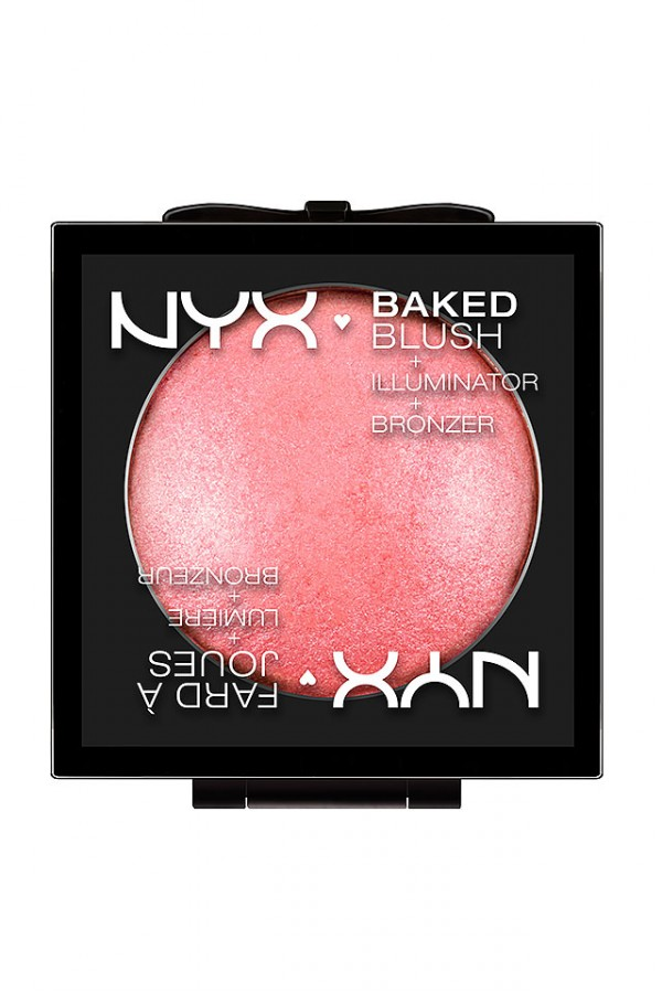 Baked Blush - Rouge Från NYX - Spanish Rose
