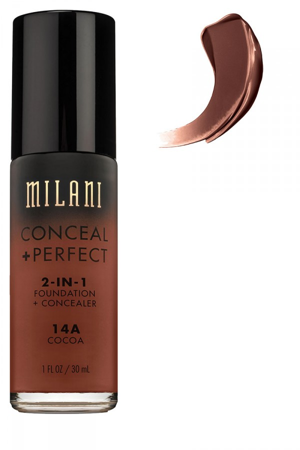 Foundation + Concealer 2 In 1 - Cocoa