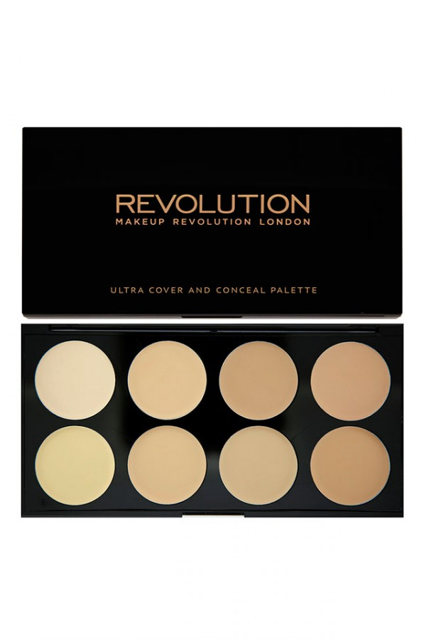 Ultra Cover and Concealer Palette Light