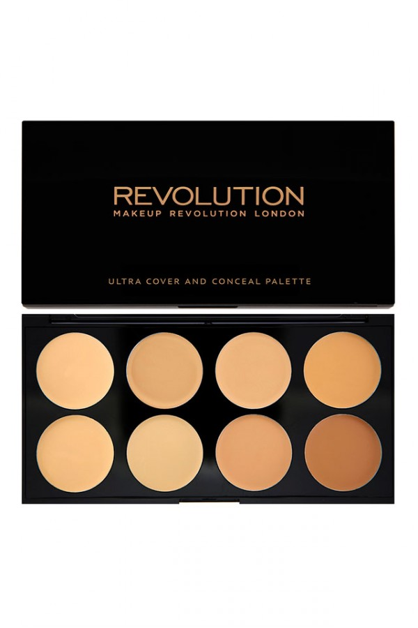 Ultra Cover and Concealer Palette Light - Medium