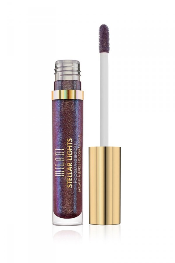 Stellar Lights Holographic Lip Gloss - Kaleidoscopic Purple