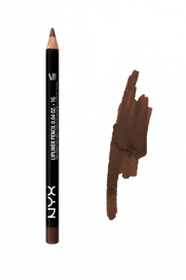 NYX Slim Lip Pencil - Brown