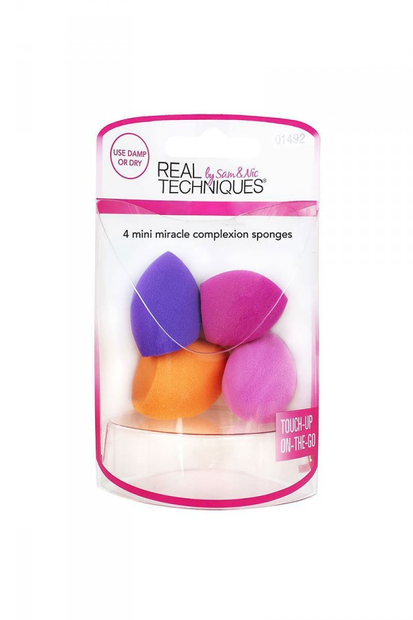 4 Mini Miracle Complexion Sponges