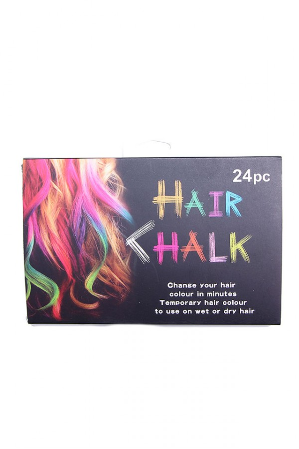 Hårkritor - Hair Chalk - 24 pack