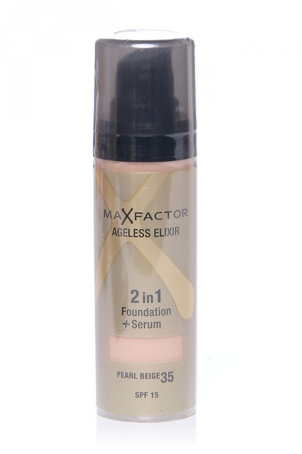 MaxFactor Foundation + Serum - Pearl Beige 35