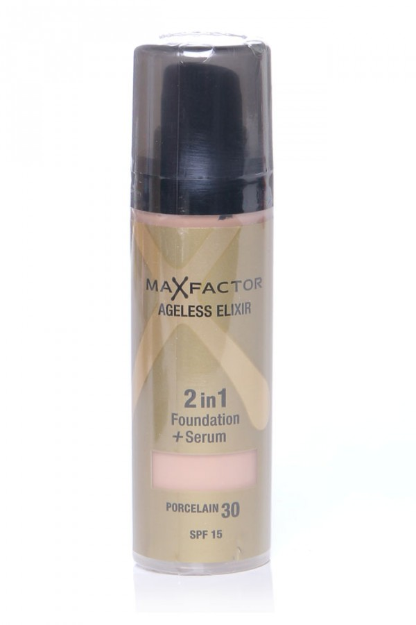MaxFactor Foundation + Serum - Porcelain 30