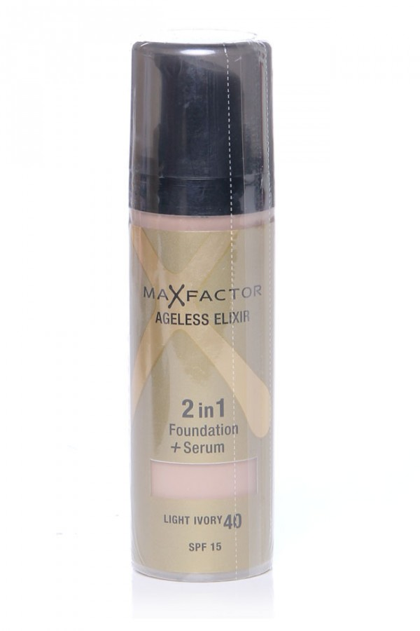 MaxFactor Foundation + Serum - Light Ivory 40