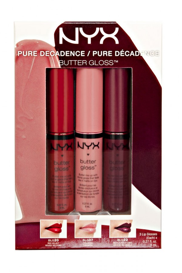 NYX Butter Gloss Set - Pure Decandence