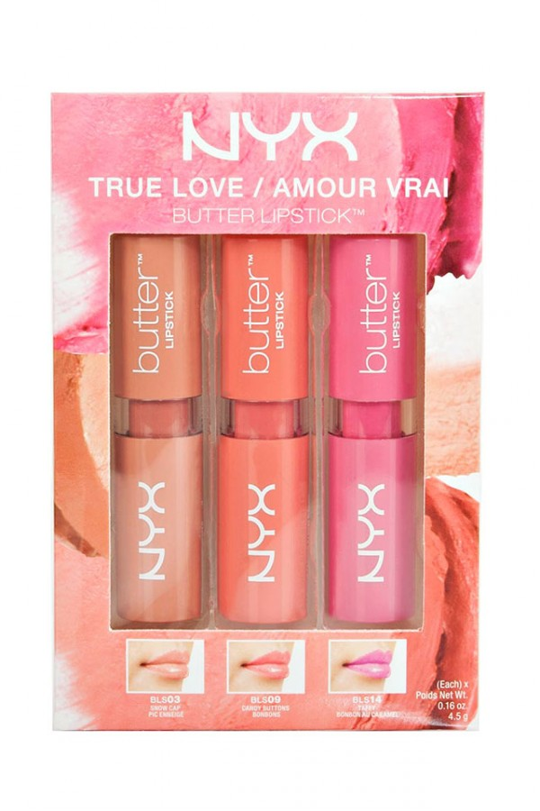 NYX Butter Lipstick Set - True Love