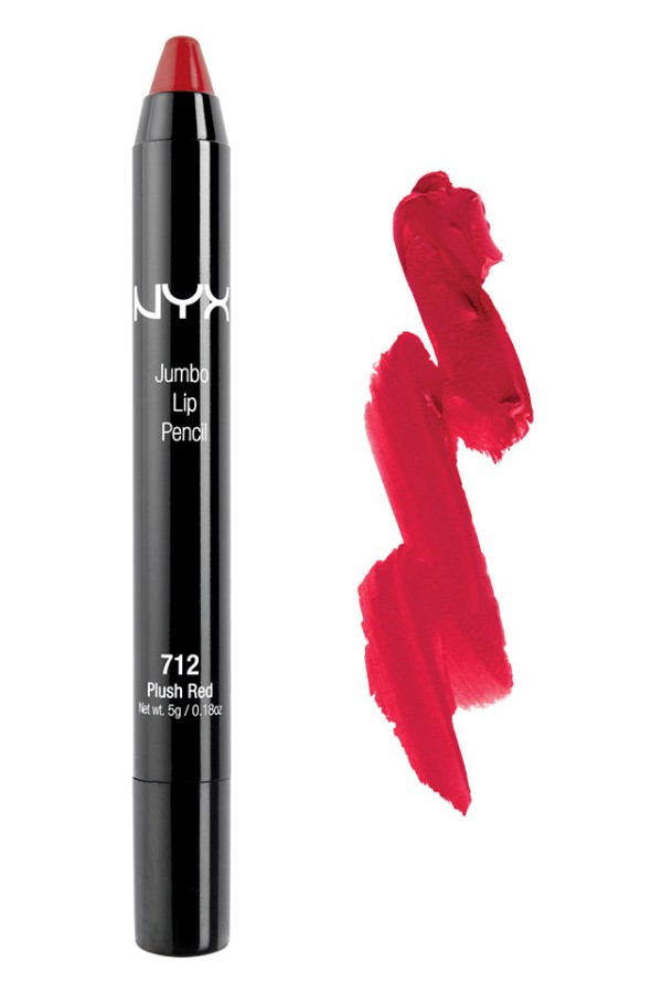 NYX Jumbo Eye Pencil - Plush Red
