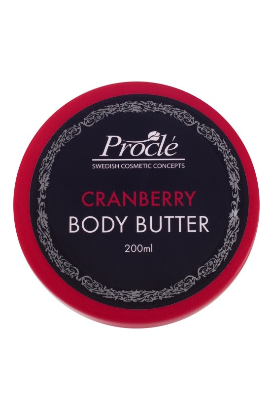 Body Butter 200ml - Cranberry