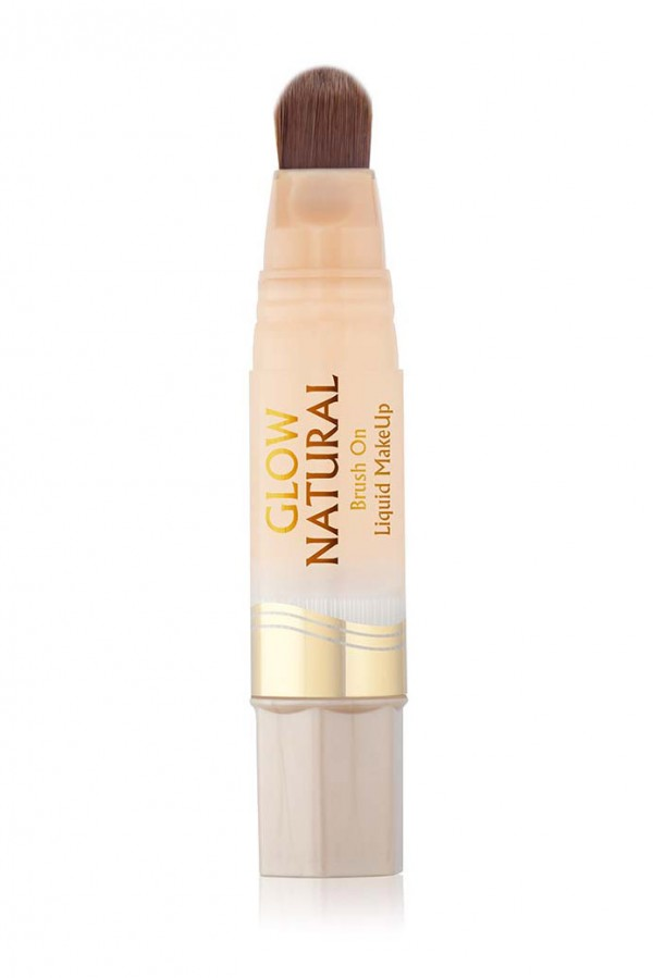 Milani Glow Natural Brush-On Liquid Makeup - Fair To Light