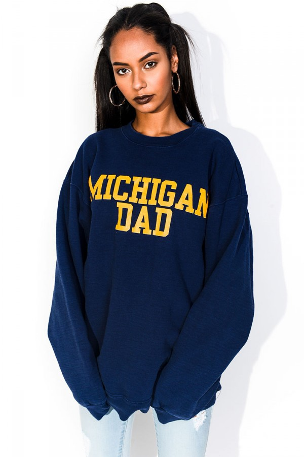 Vintage Sweatshirt - Michigan Dad