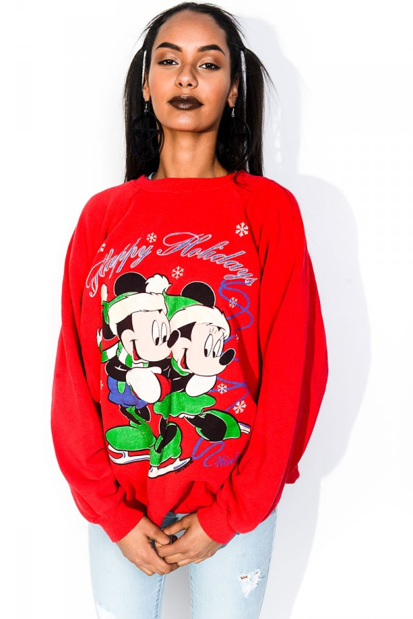 Vintage Sweatshirt - Happy Holidays