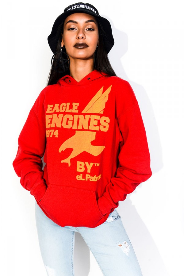 Vintage Sweatshirt - Eagle Engines