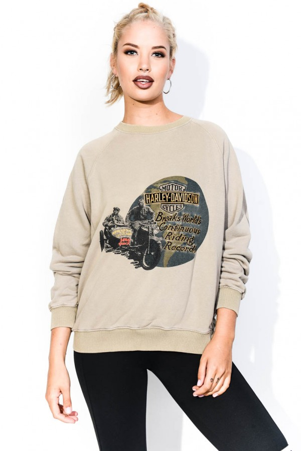 Vintage Sweatshirt - Motor Cycles