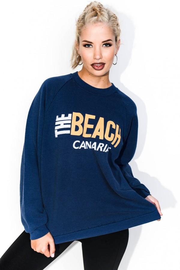 Vintage Sweatshirt - The Beach