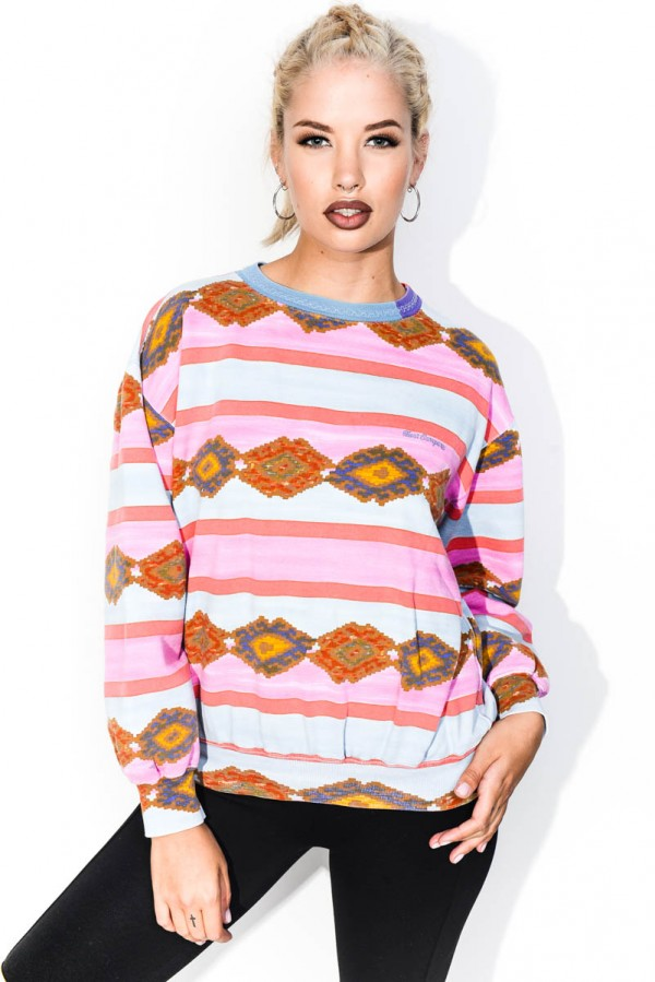 Vintage Sweatshirt - Tripping Colours