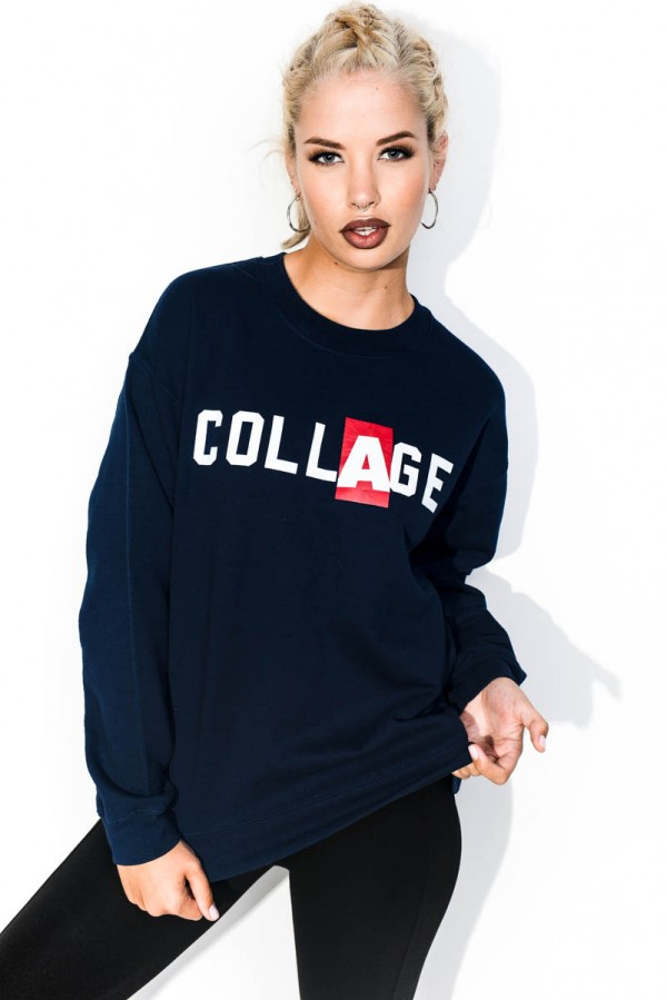 Vintage Sweatshirt - Collage