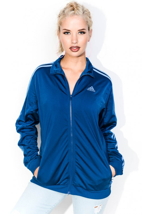 Vintage Zip - Adidas Blue All The Way