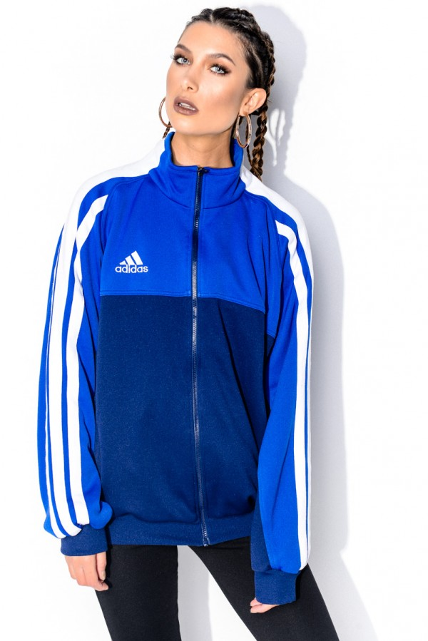 Vintage Zip - Adidas Goes Blue